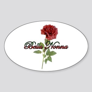 Bella Nonna Oval Sticker